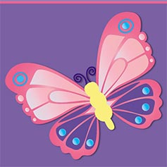 3-D Butterfly Design Set from Lillian Vernon