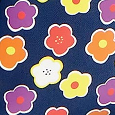 Navy Floral Design Set from Lillian Vernon