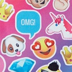 Emojicon Funk Design Set from Lillian Vernon