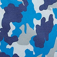 Blue Camo Design Set from Lillian Vernon