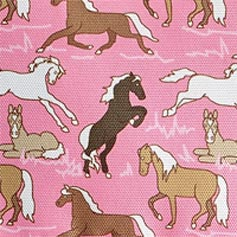 Horses on Pink Design Set from Lillian Vernon