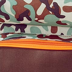 Orange and Brown Camo Design Set from Lillian Vernon