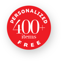 Personalized 400+ items Free