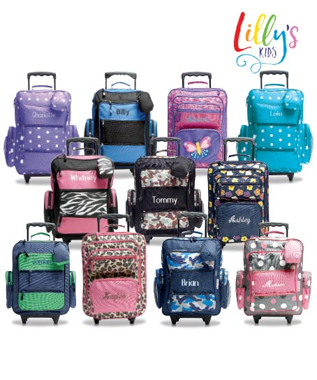 Shop Kids' Rolling Luggage