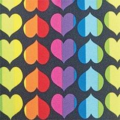 Rainbow Heart from Lillian Vernon