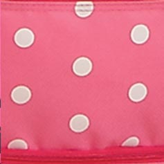 Pink with White Dots Design Set from Lillian Vernon